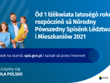 Więcej o: Narodowy Spis Powszechny Ludności i Mieszkań 2021